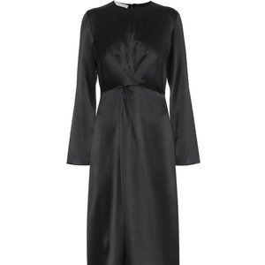 Vince black silk dress, brand new, unwrapped,